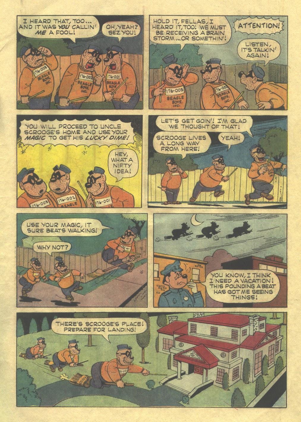 Walt Disney THE BEAGLE BOYS issue 2 - Page 7