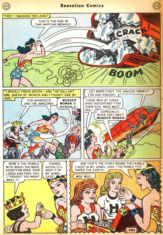 Read online Sensation (Mystery) Comics comic -  Issue #92 - 14