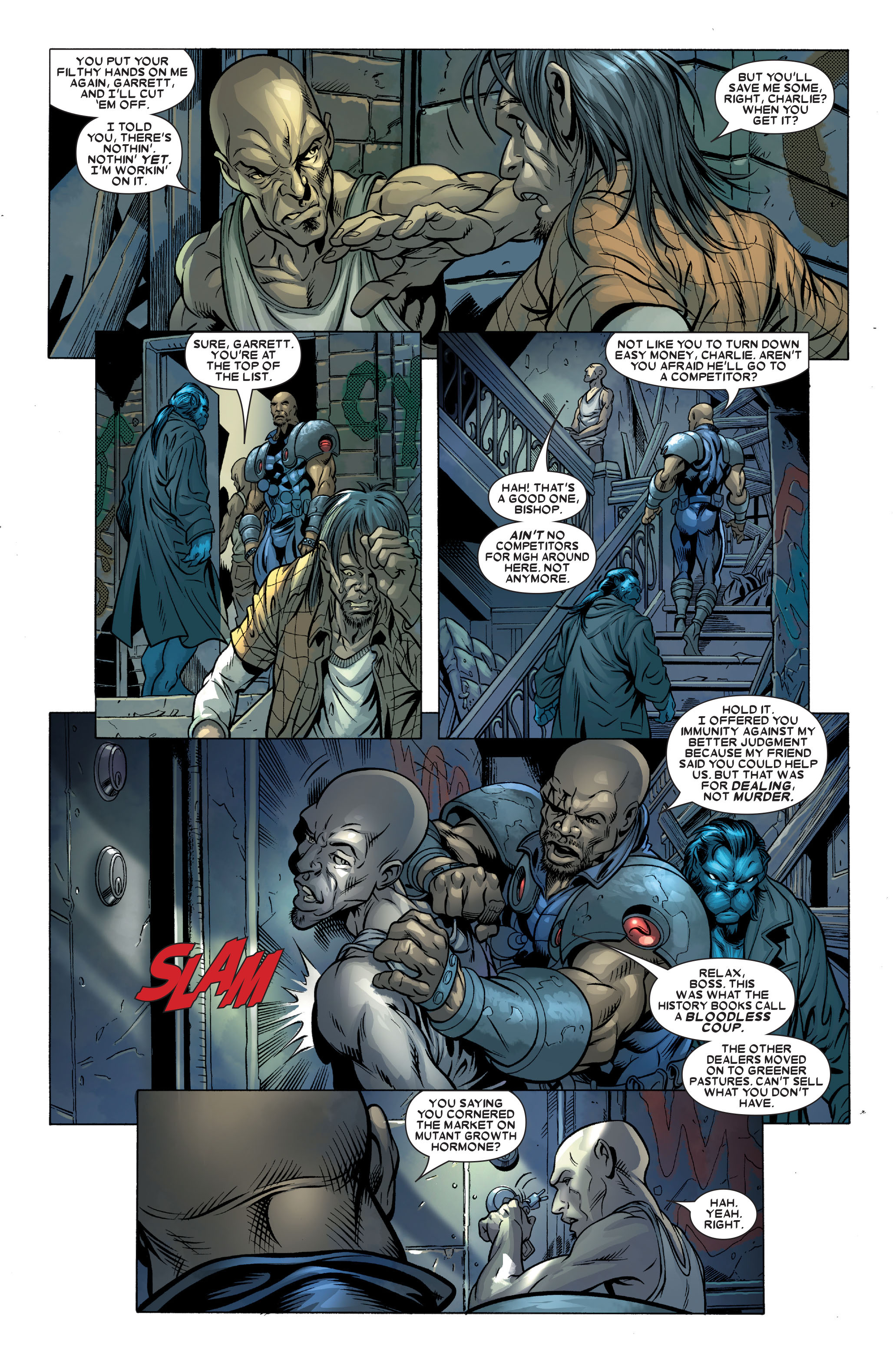 Read online Uncanny X-Men (1963) comic -  Issue #490 - 27