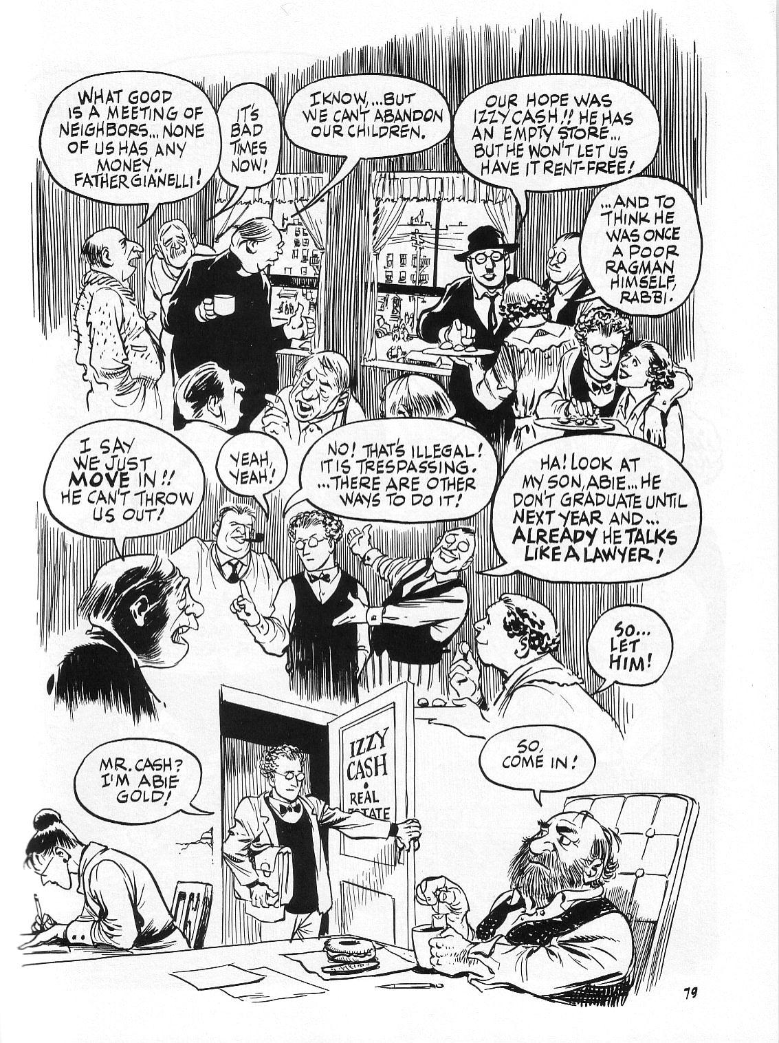 Read online Dropsie Avenue, The Neighborhood comic -  Issue # Full - 81