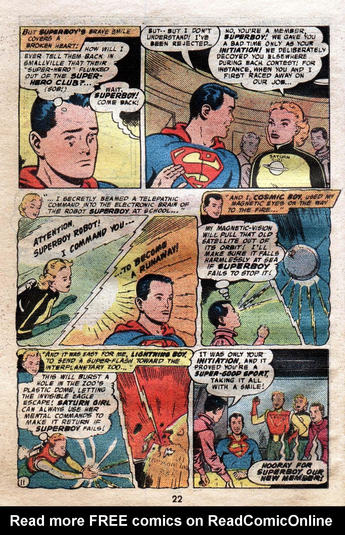 Read online Adventure Comics (1938) comic -  Issue #491 - 22