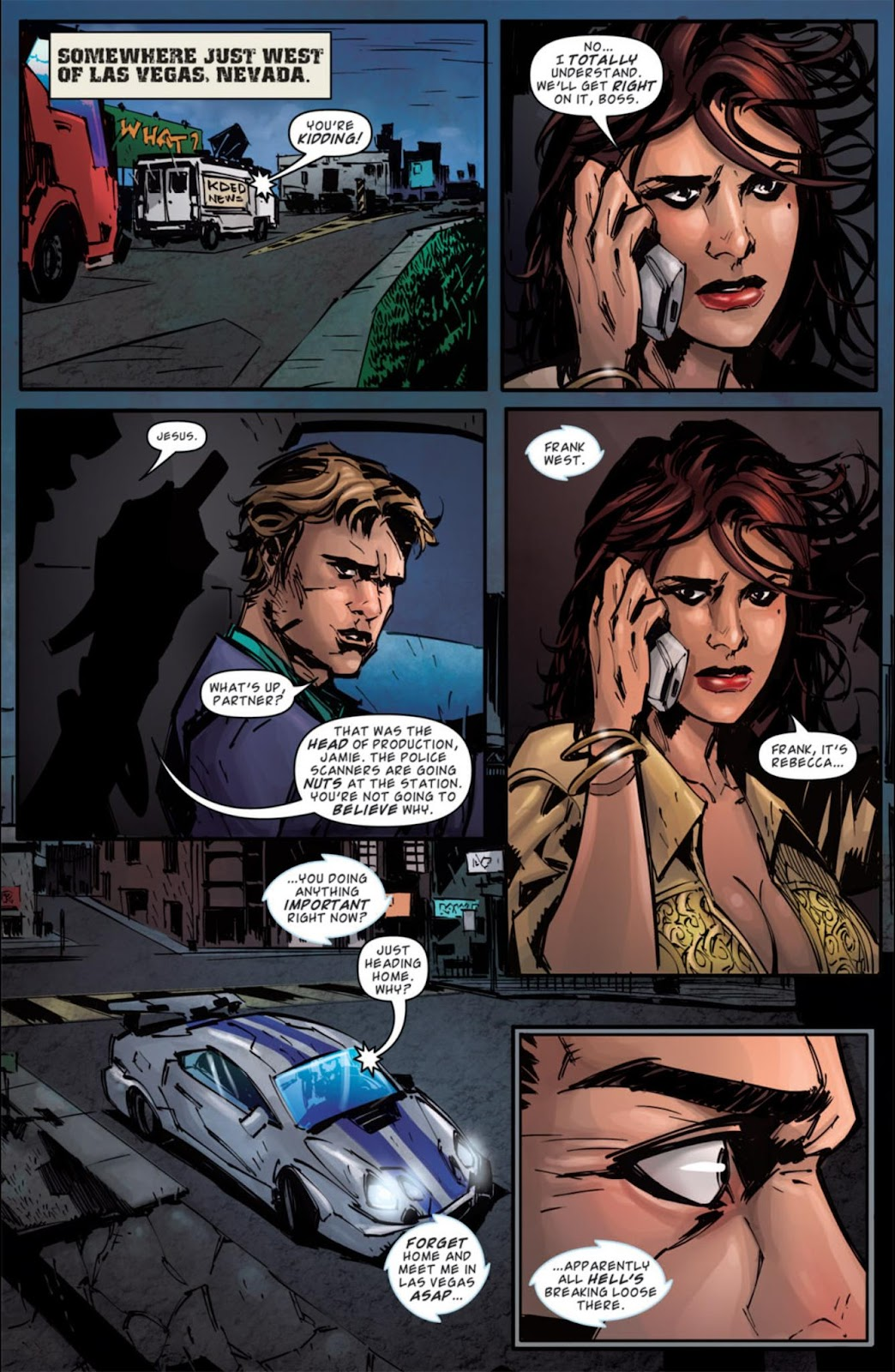 Read online Dead Rising: Road to Fortune comic -  Issue #3 - 16