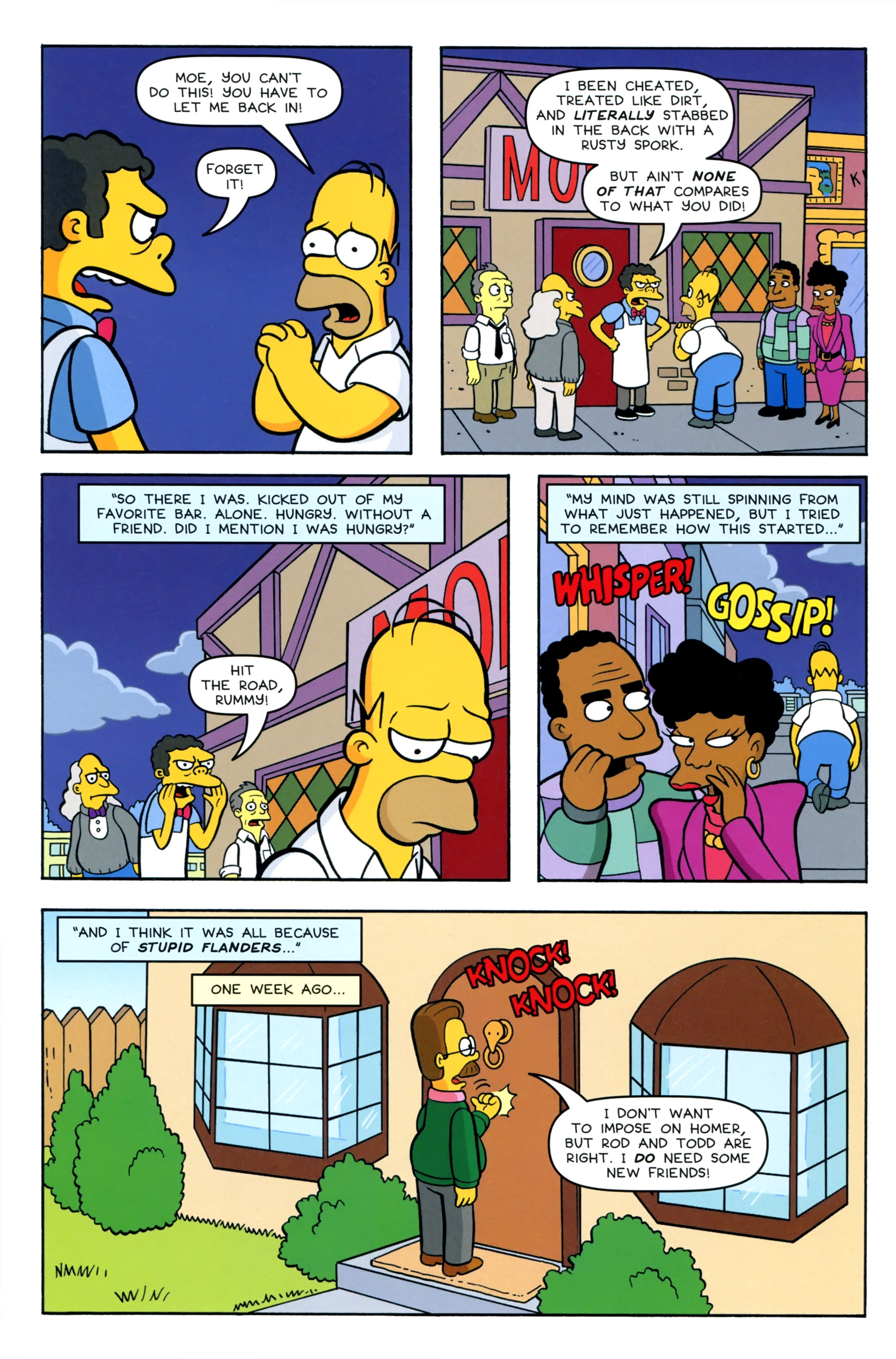 Read online Simpsons Comics comic -  Issue #220 - 4