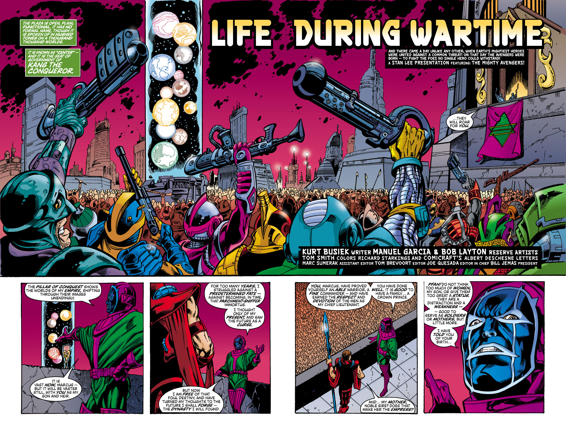 Read online Avengers (1998) comic -  Issue #45 - 3