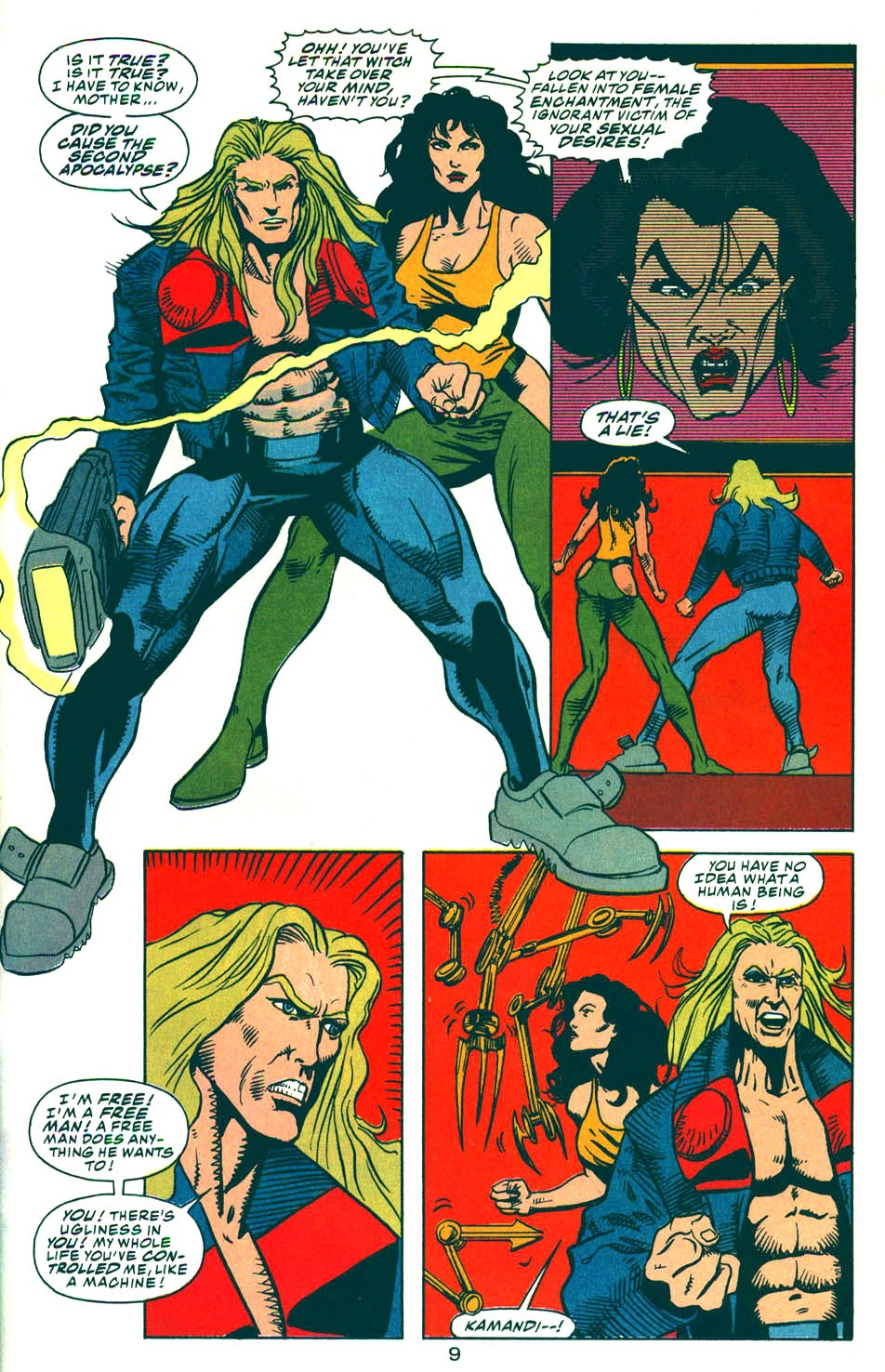 Read online Kamandi: At Earth's End comic -  Issue #6 - 10