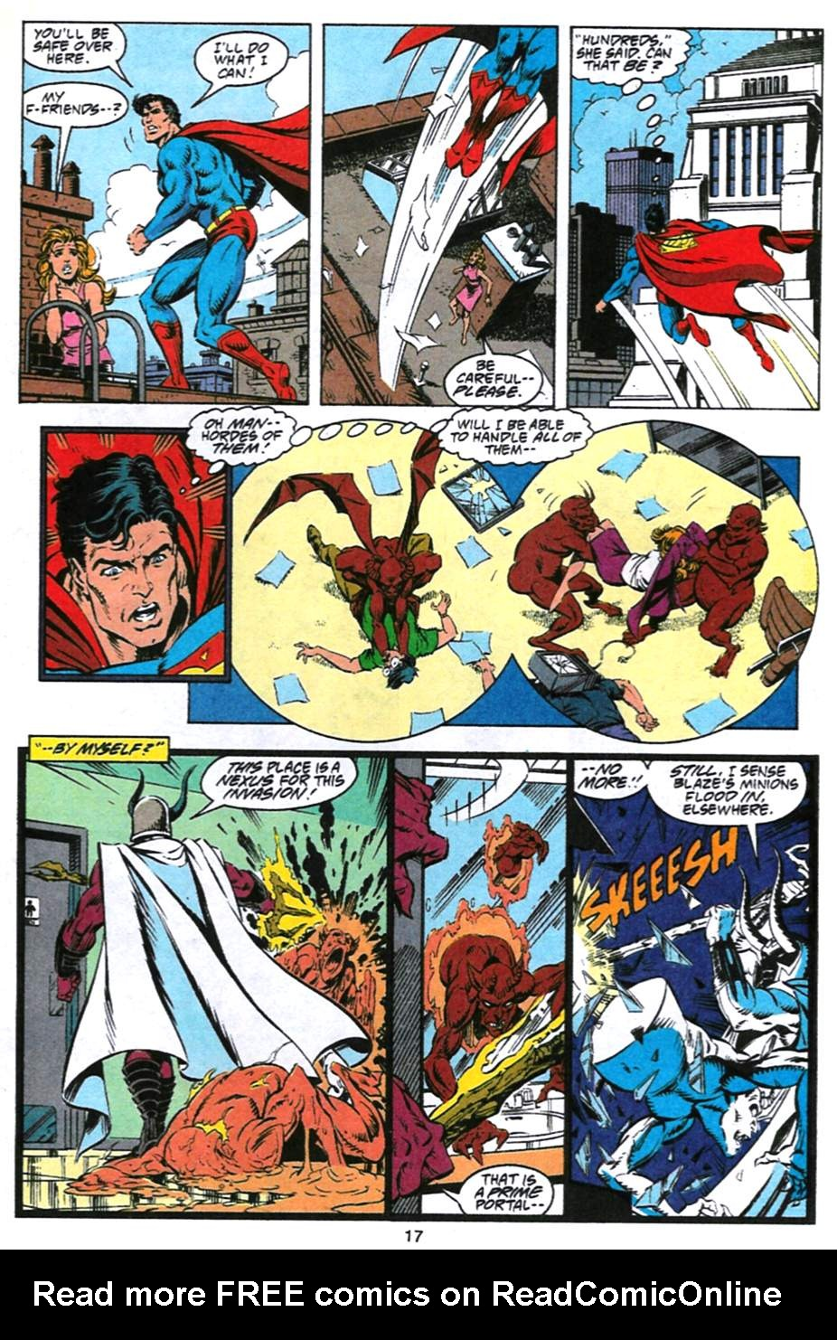 Read online Adventures of Superman (1987) comic -  Issue #493 - 18