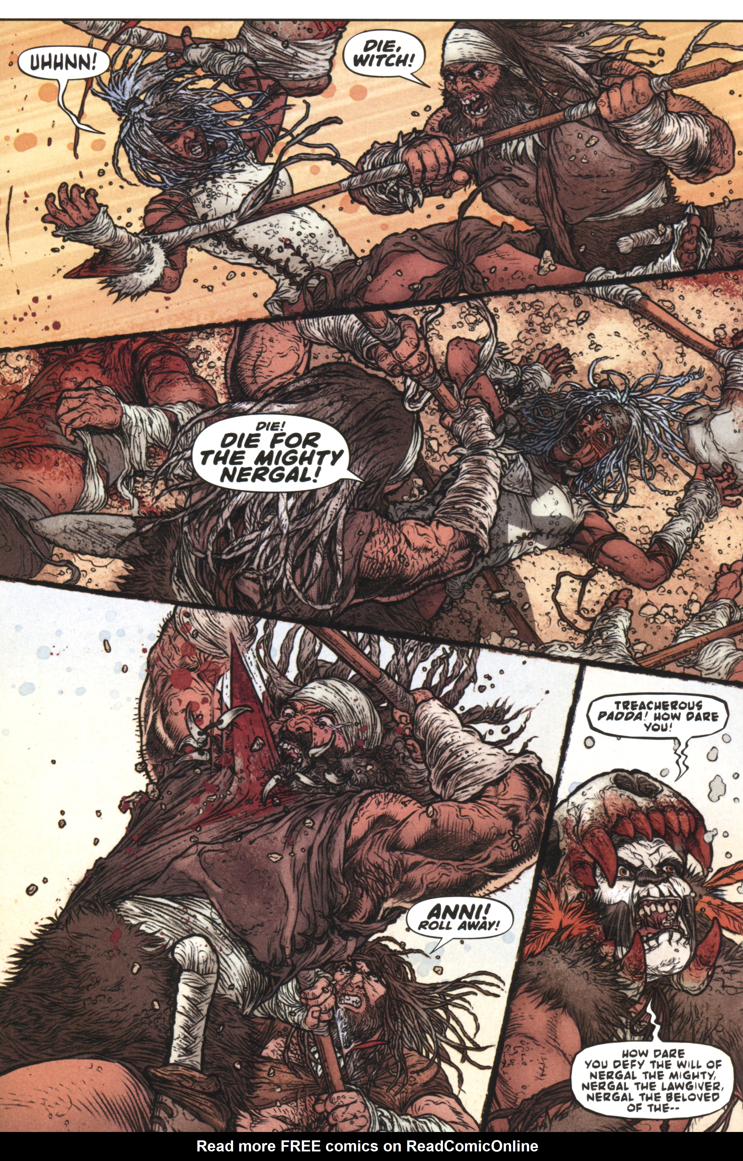 Read online Book of Death: Legends of the Geomancer comic -  Issue #2 - 6