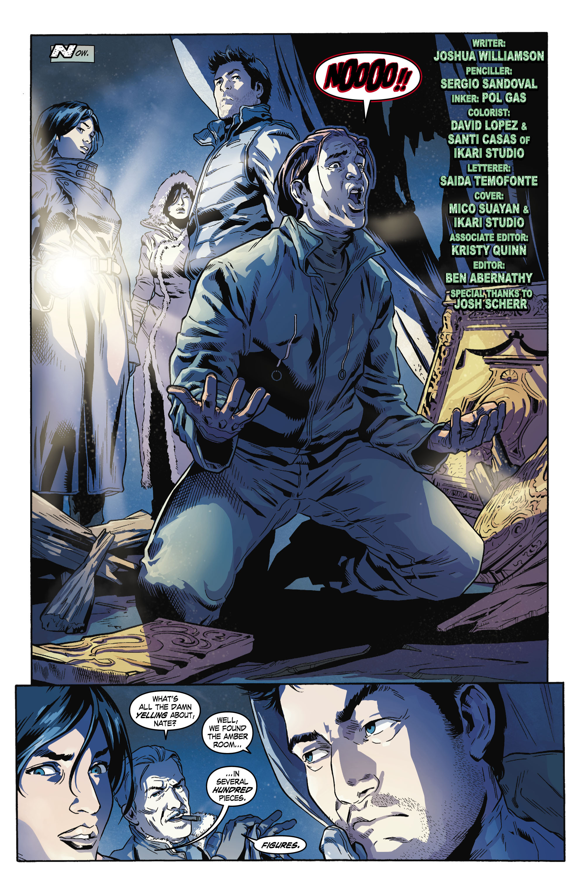Read online Uncharted comic -  Issue #4 - 4