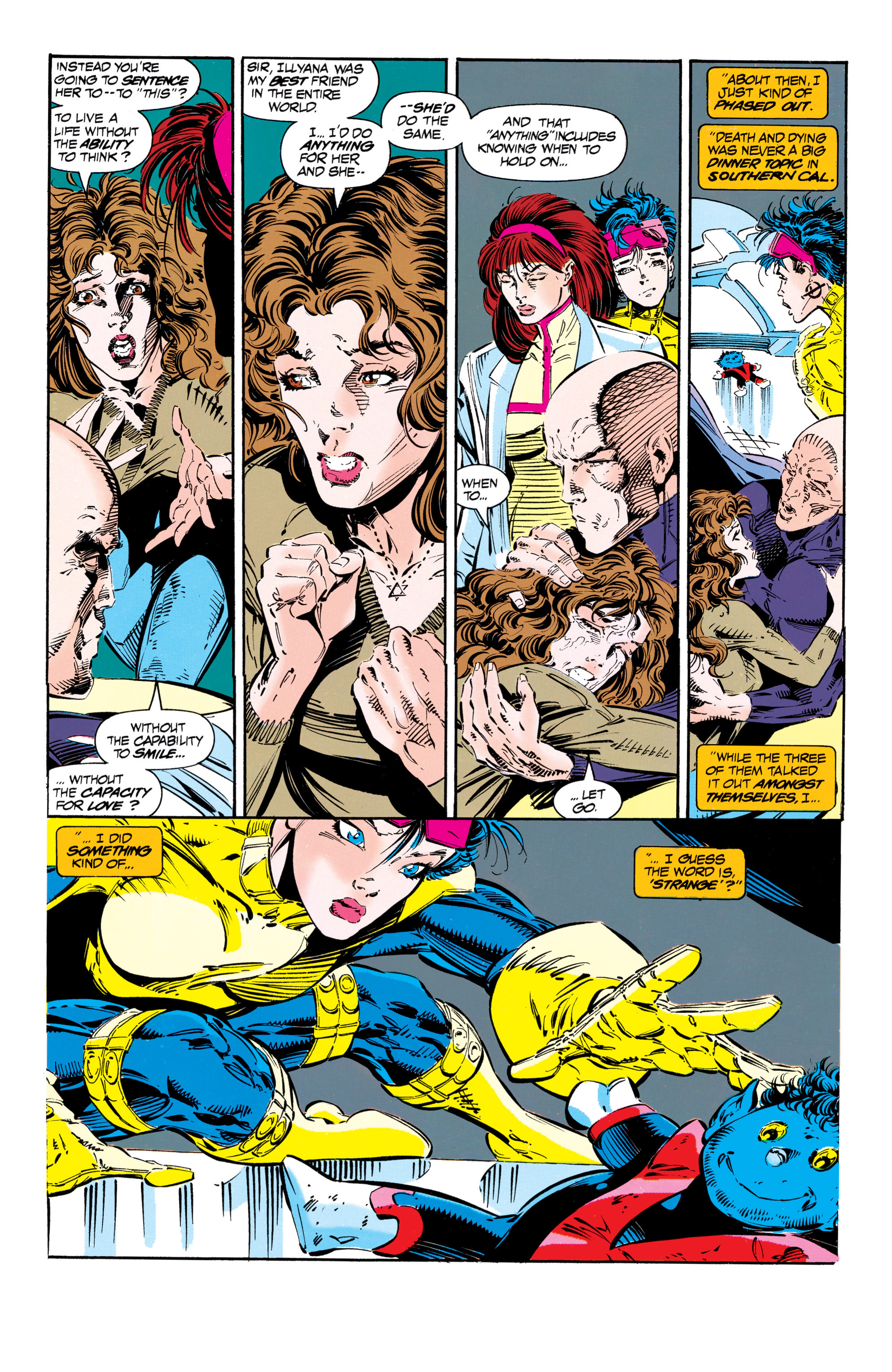 Read online Uncanny X-Men (1963) comic -  Issue #303 - 16