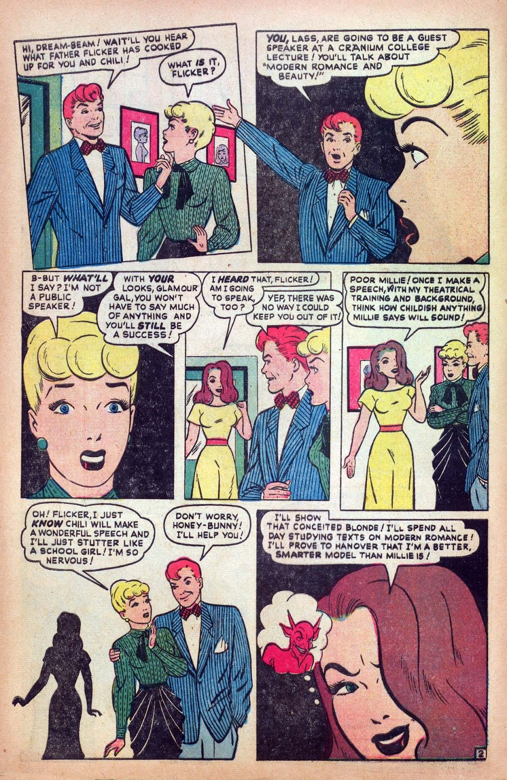 Read online Millie the Model comic -  Issue #13 - 4