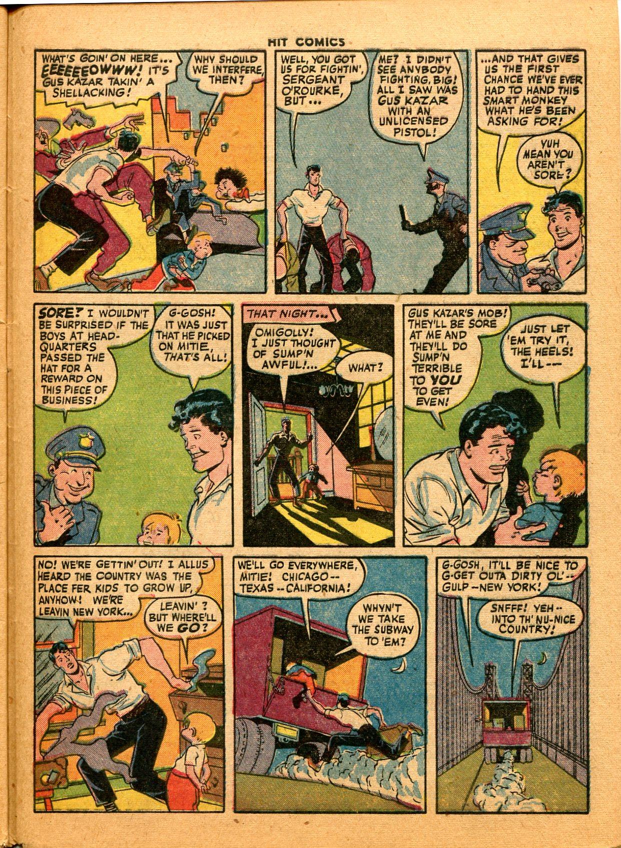 Read online Hit Comics comic -  Issue #35 - 45