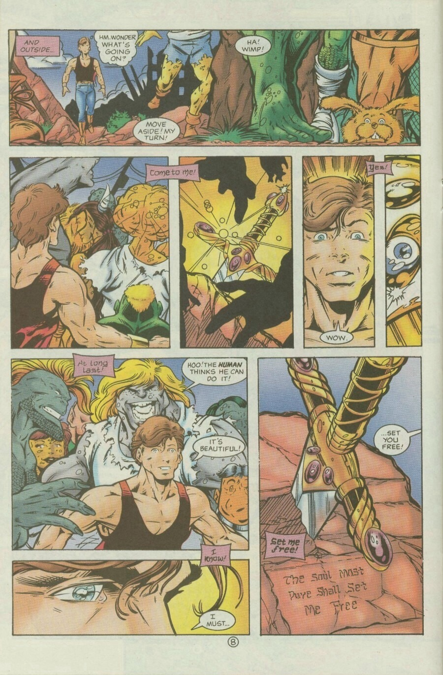 Read online Ex-Mutants comic -  Issue #9 - 10