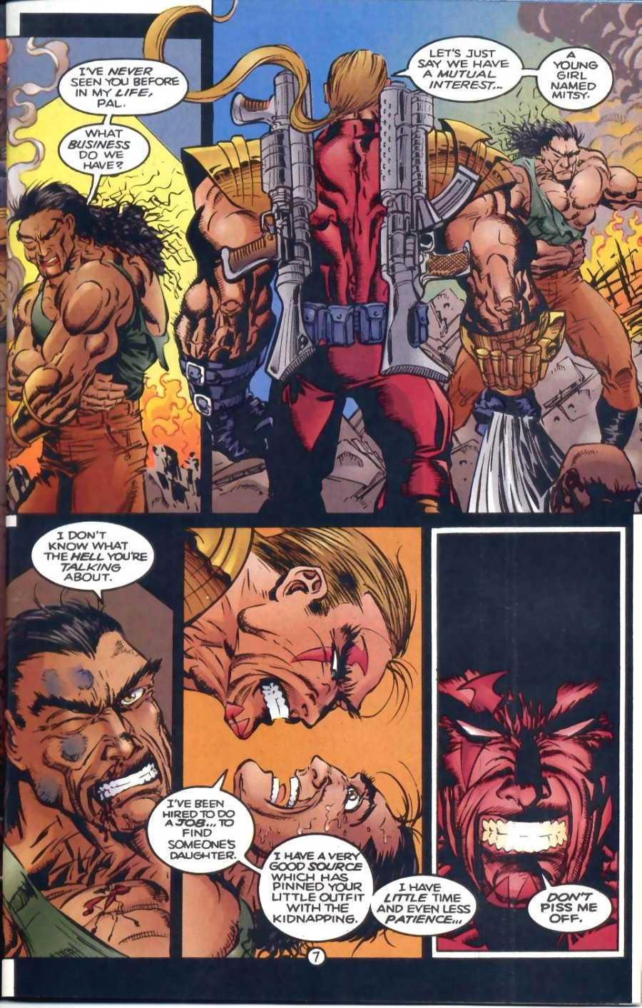 Read online Ultraverse Premiere comic -  Issue #1 - 19