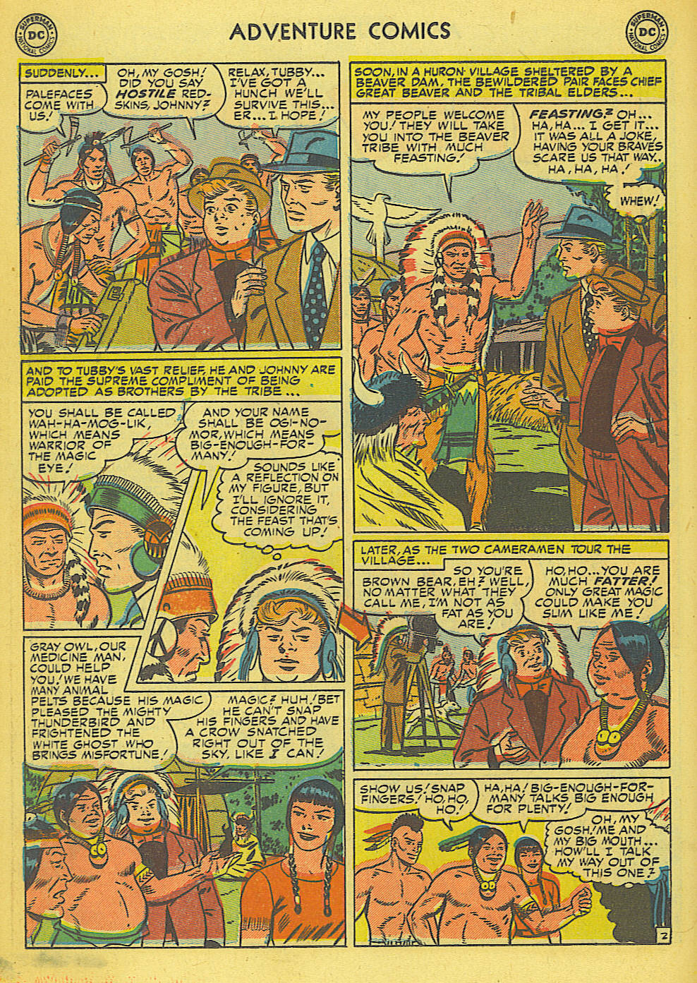 Read online Adventure Comics (1938) comic -  Issue #165 - 21