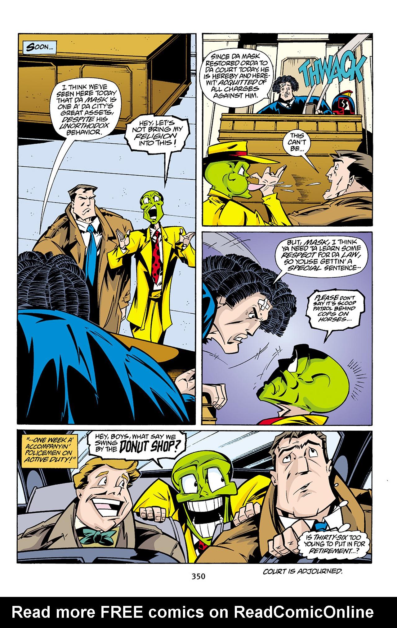 Read online Adventures Of The Mask Omnibus comic -  Issue #Adventures Of The Mask Omnibus Full - 349