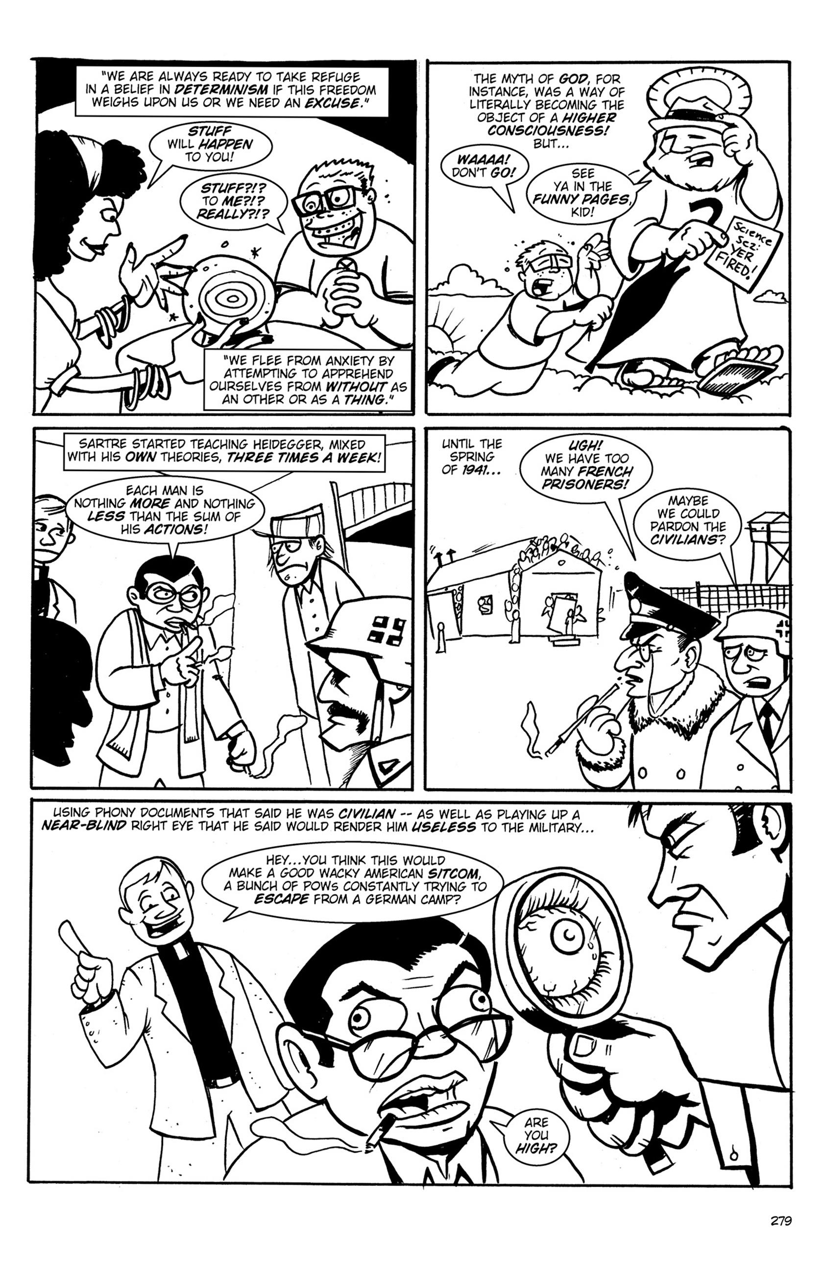 Read online Action Philosophers! comic -  Issue #Action Philosophers! TPB (Part 2) - 107