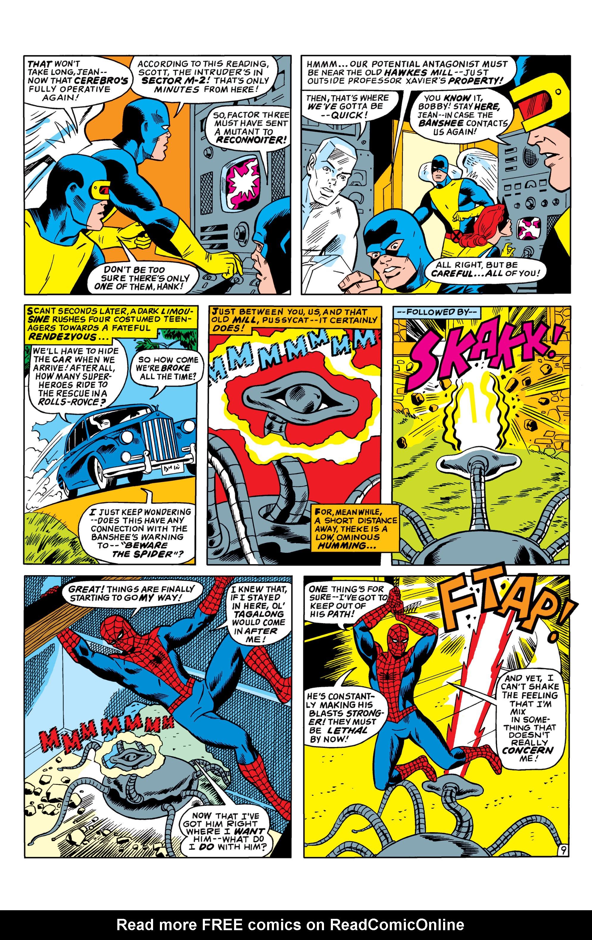 Uncanny X-Men (1963) 35 Page 9