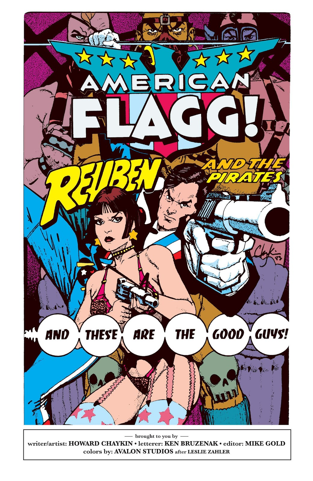 American Flagg! issue Definitive Collection (Part 2) - Page 15