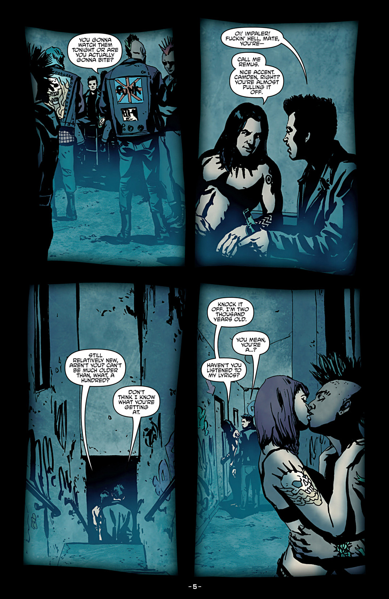 Read online True Blood (2012) comic -  Issue #3 - 7