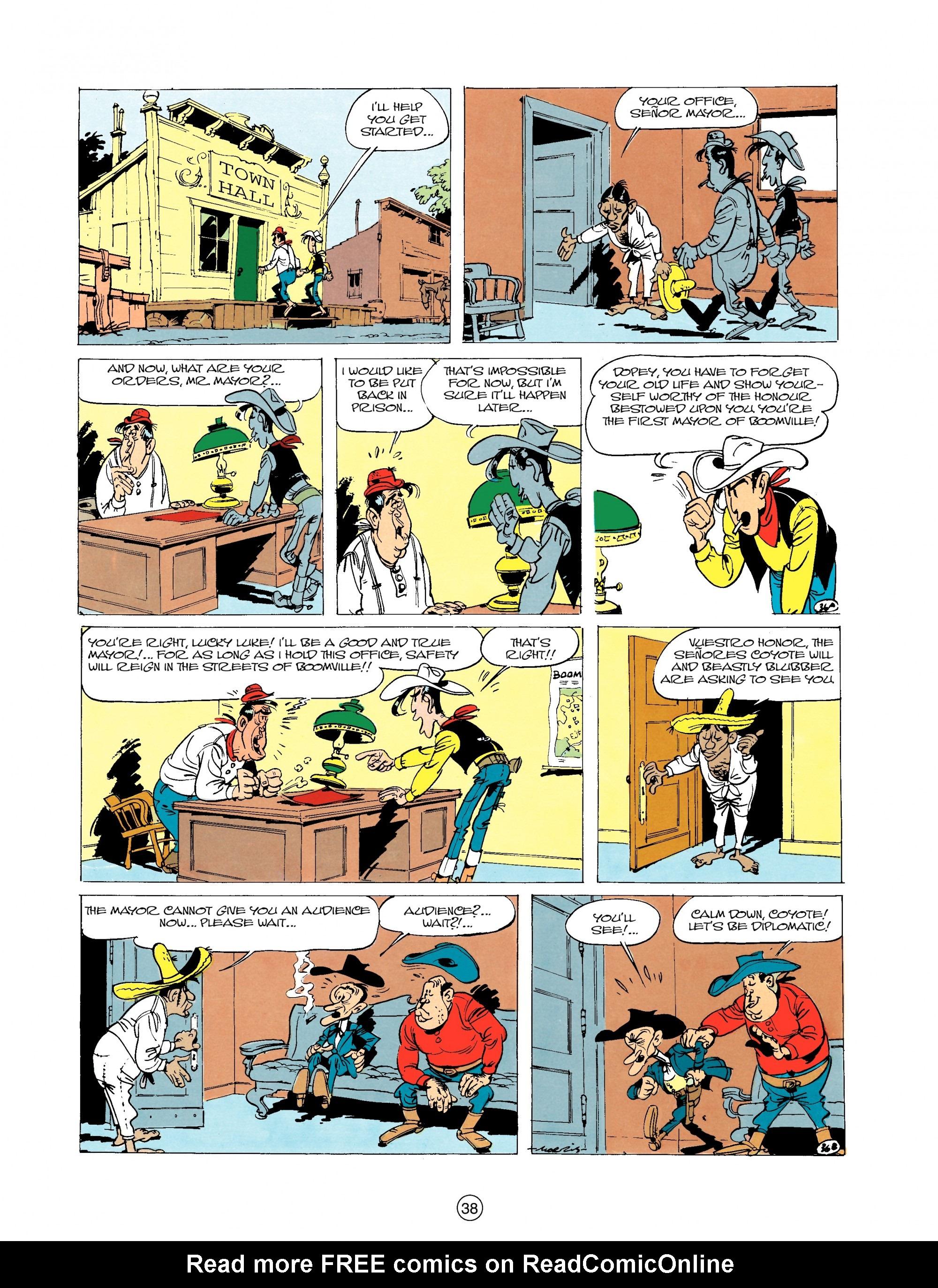 Read online A Lucky Luke Adventure comic -  Issue #20 - 38