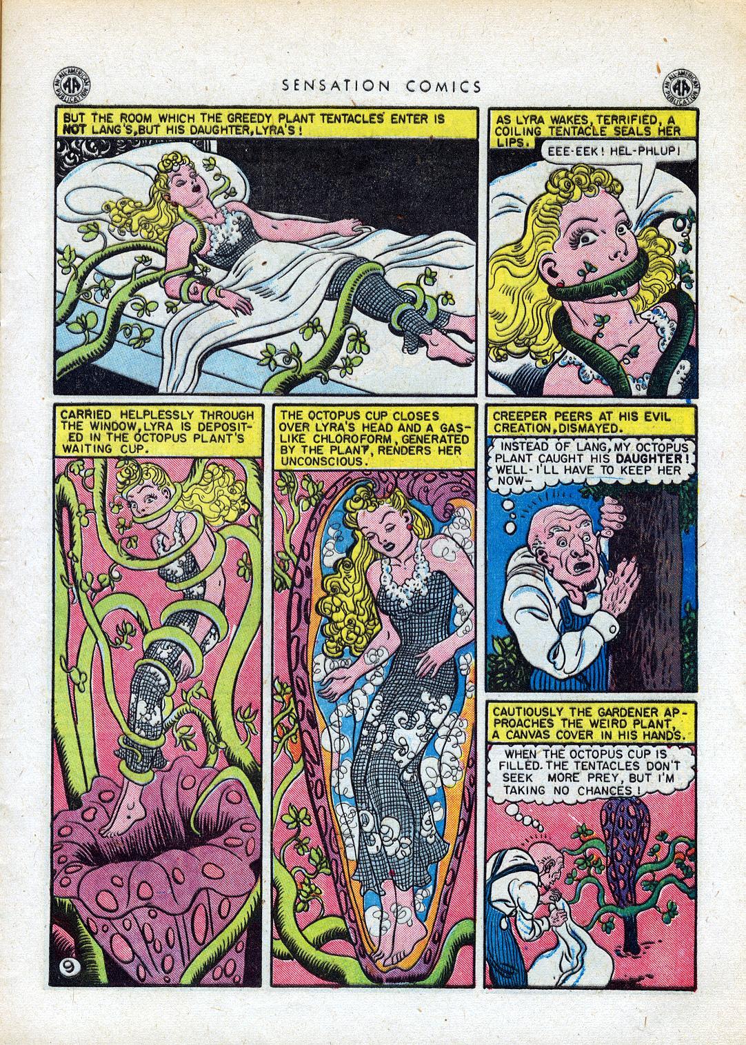 Read online Sensation (Mystery) Comics comic -  Issue #41 - 11