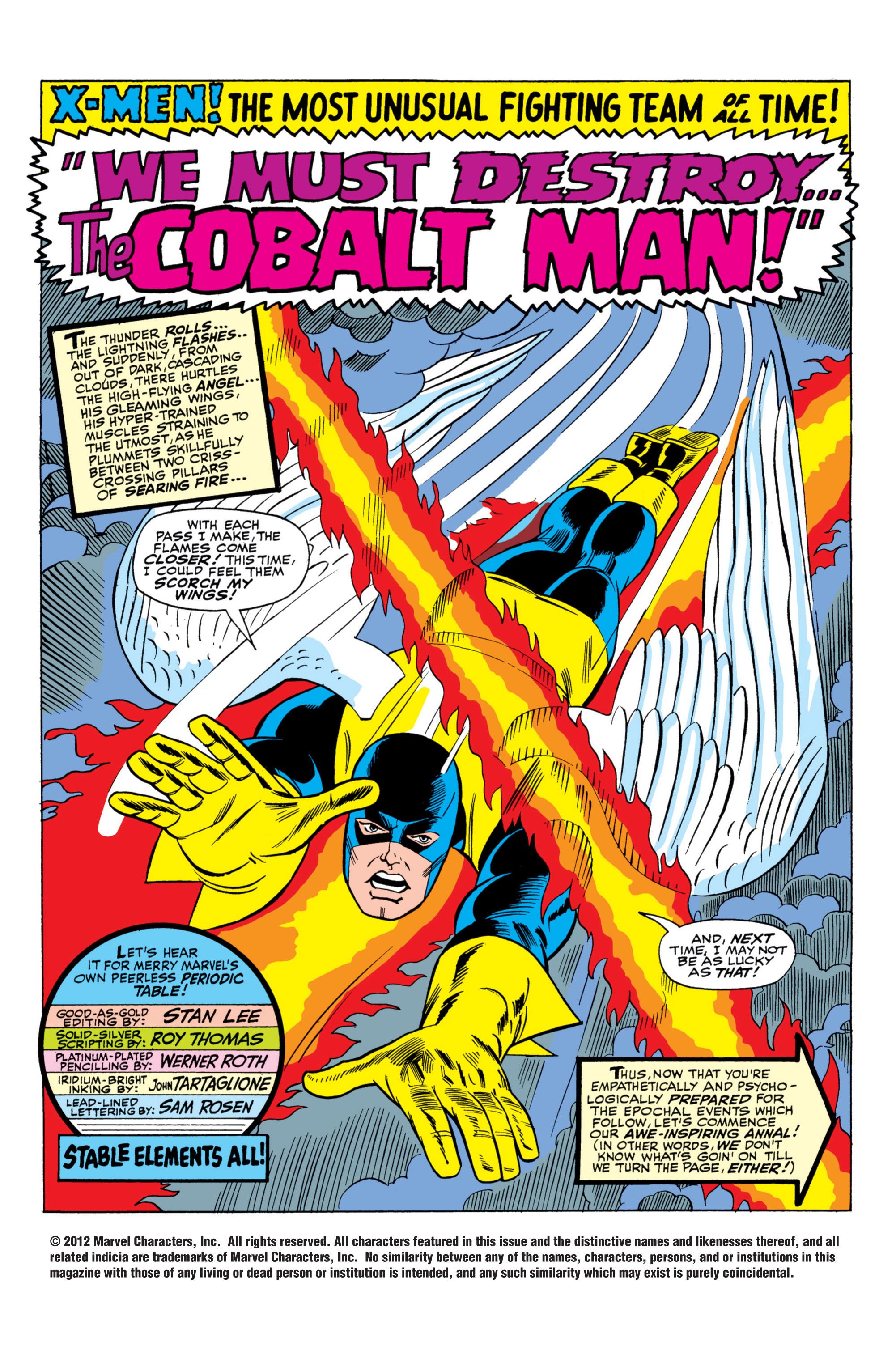 Read online Uncanny X-Men (1963) comic -  Issue #31 - 2
