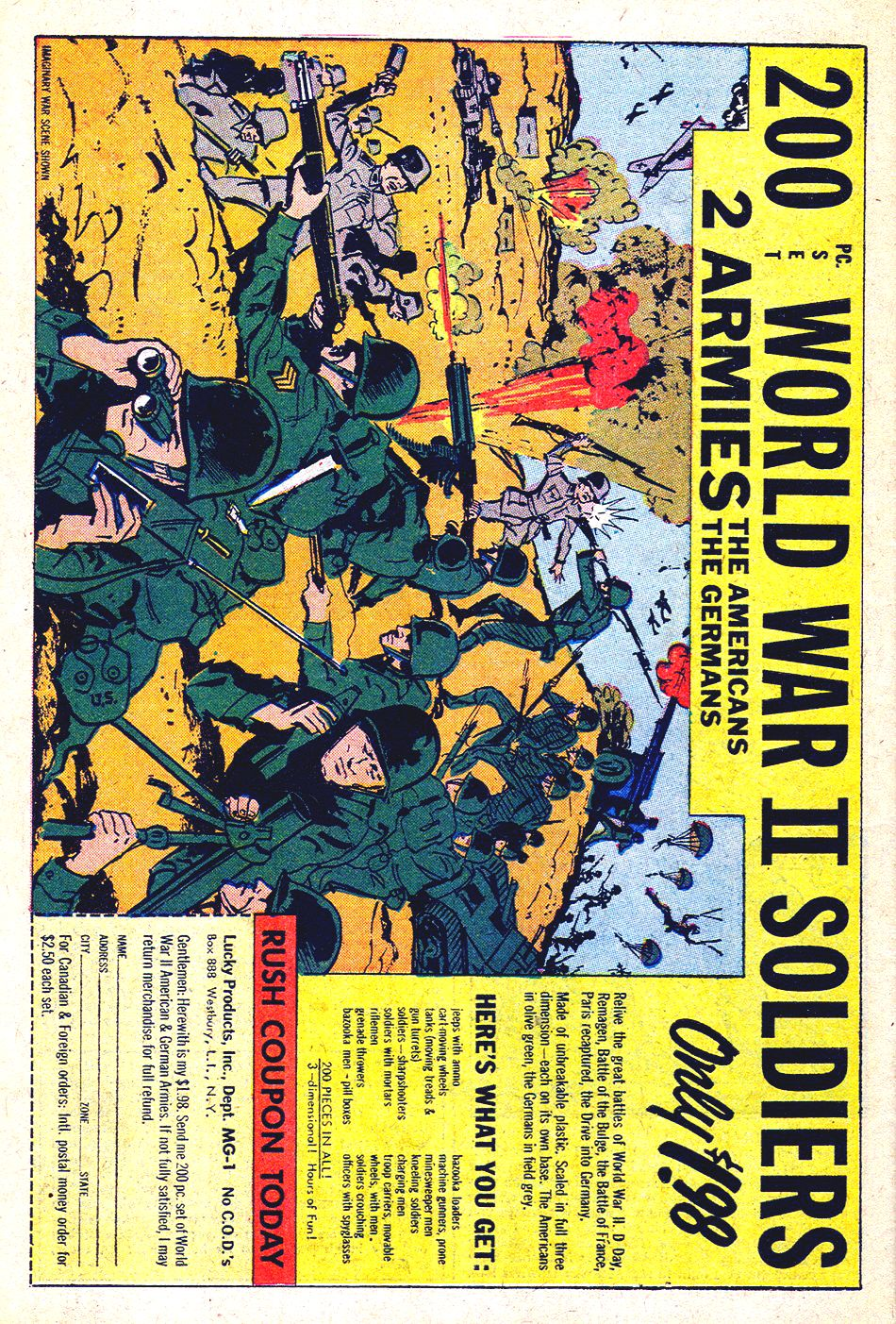 Read online Sgt. Fury comic -  Issue #33 - 34