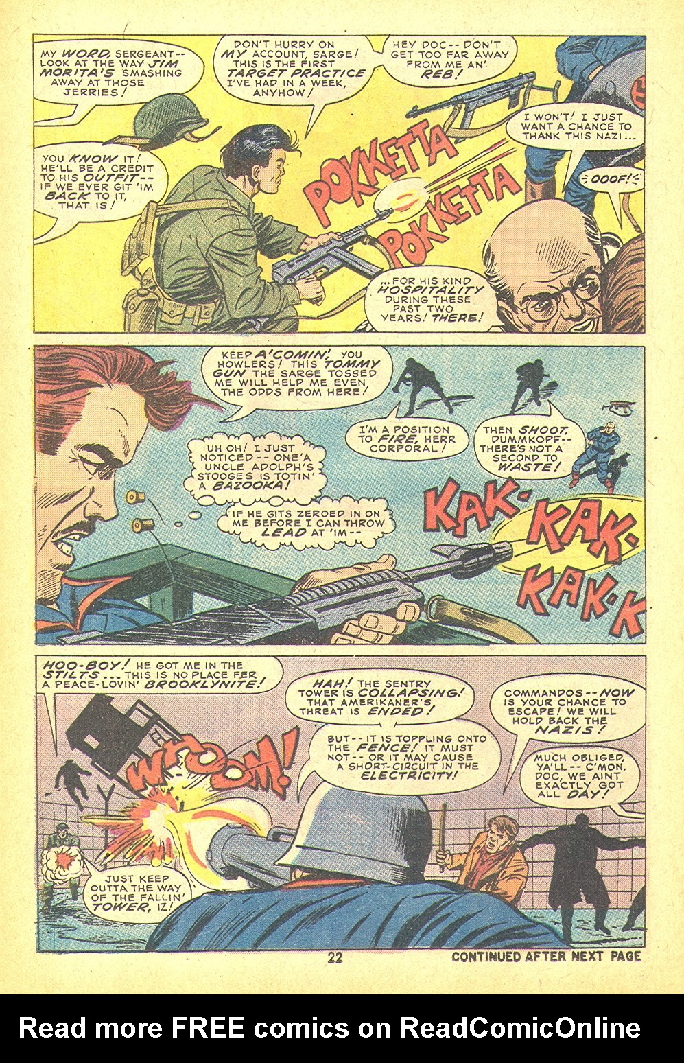 Read online Sgt. Fury comic -  Issue #109 - 24