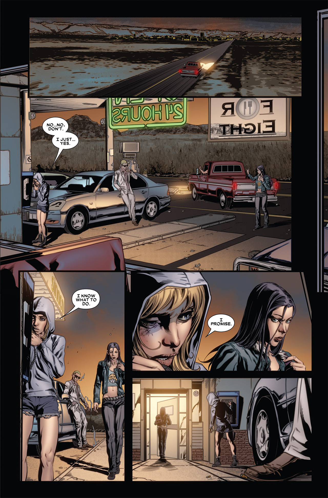 Read online X-23 (2010) comic -  Issue #4 - 5