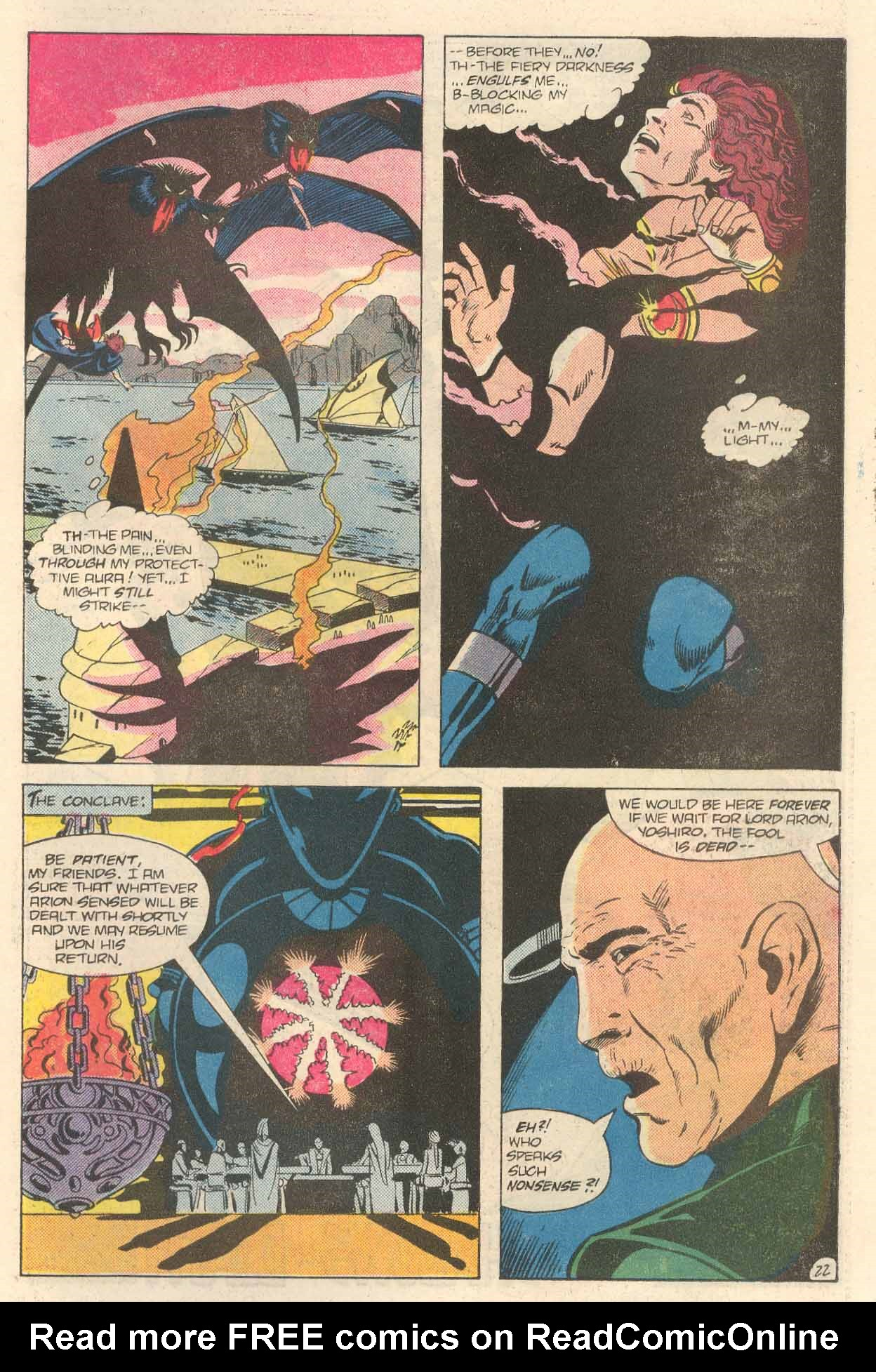 Read online Arion, Lord of Atlantis comic -  Issue #34 - 23