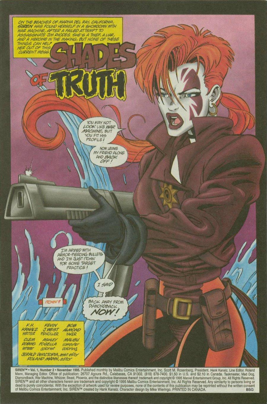 Read online Siren comic -  Issue #2 - 3