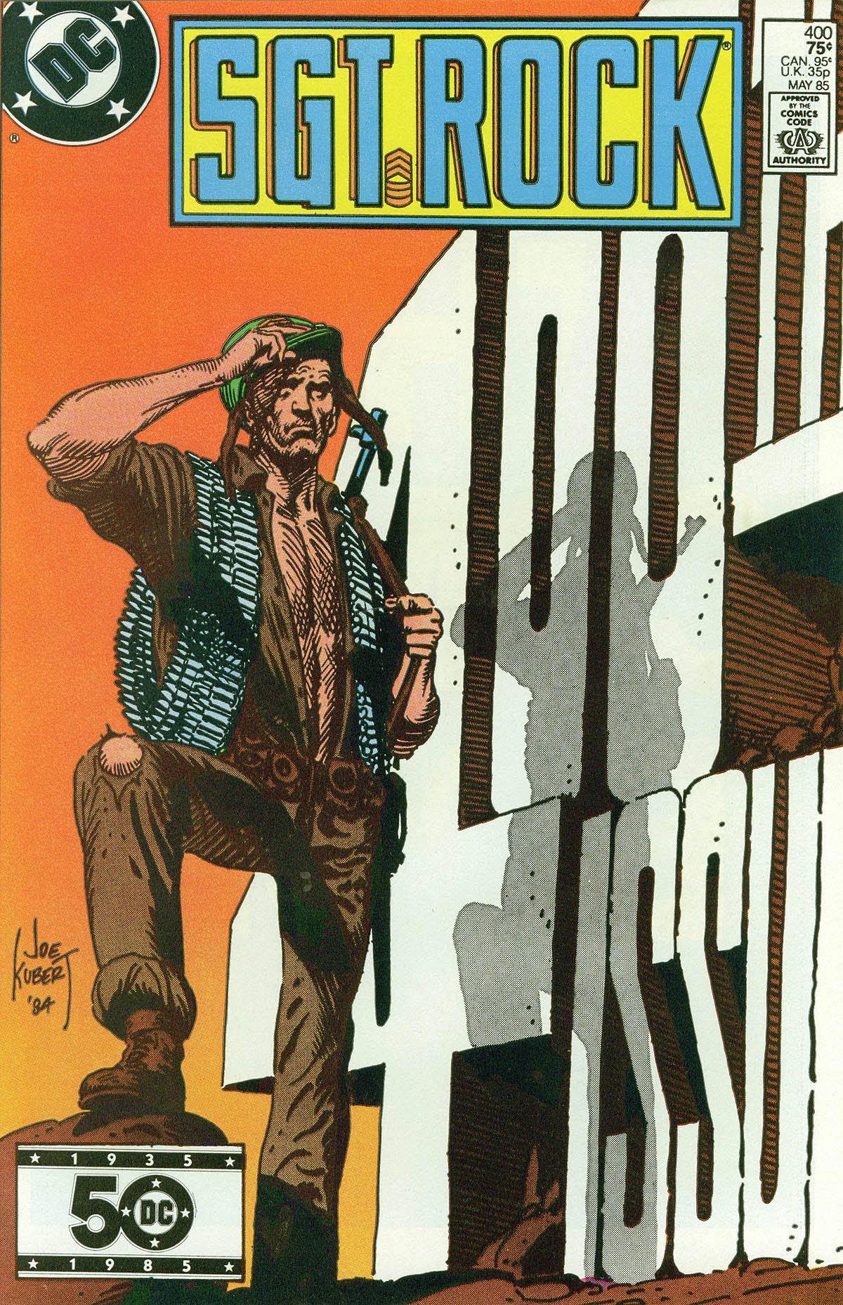 Read online Sgt. Rock comic -  Issue #400 - 1