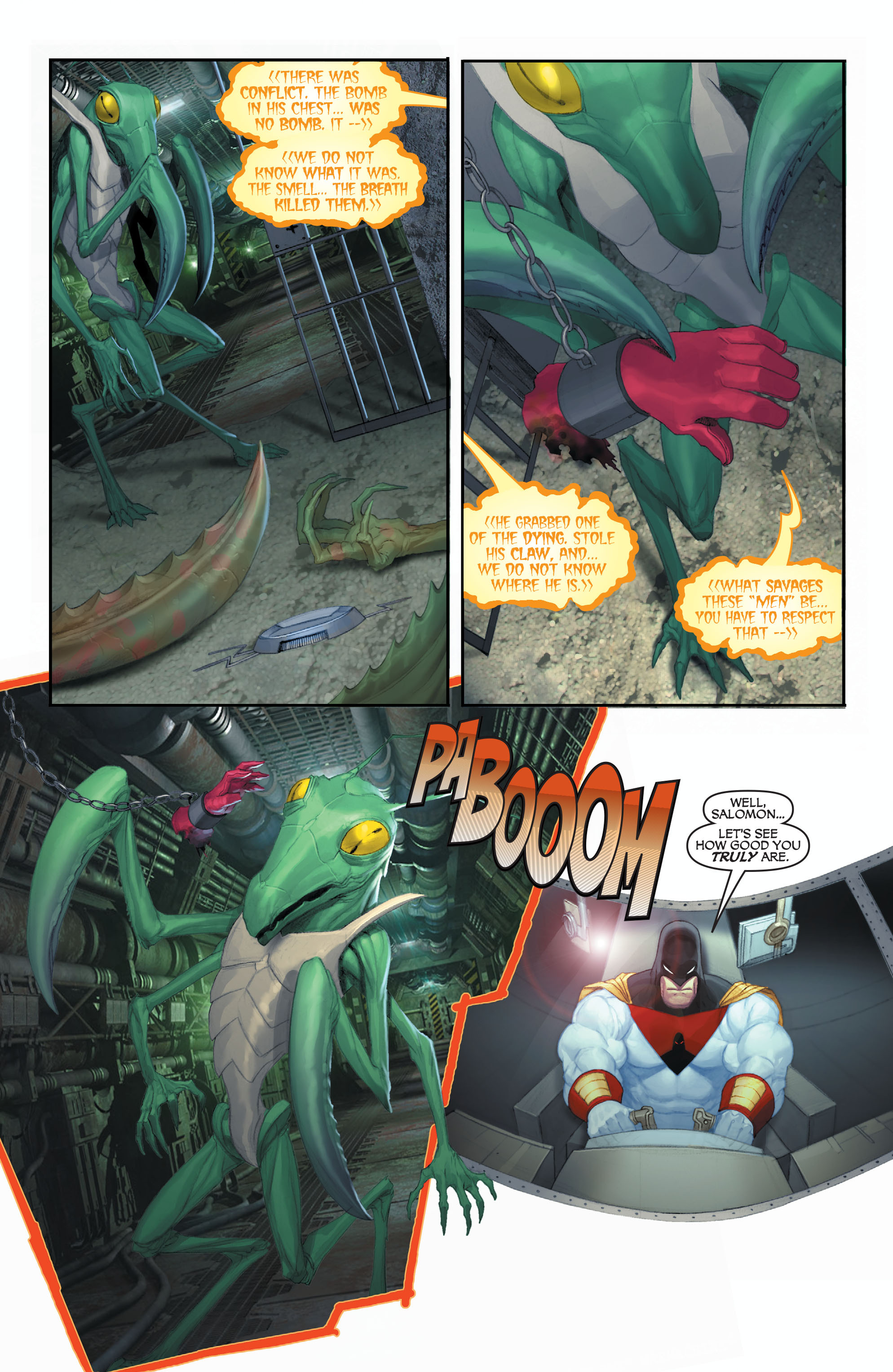 Read online Space Ghost (2016) comic -  Issue # Full - 112