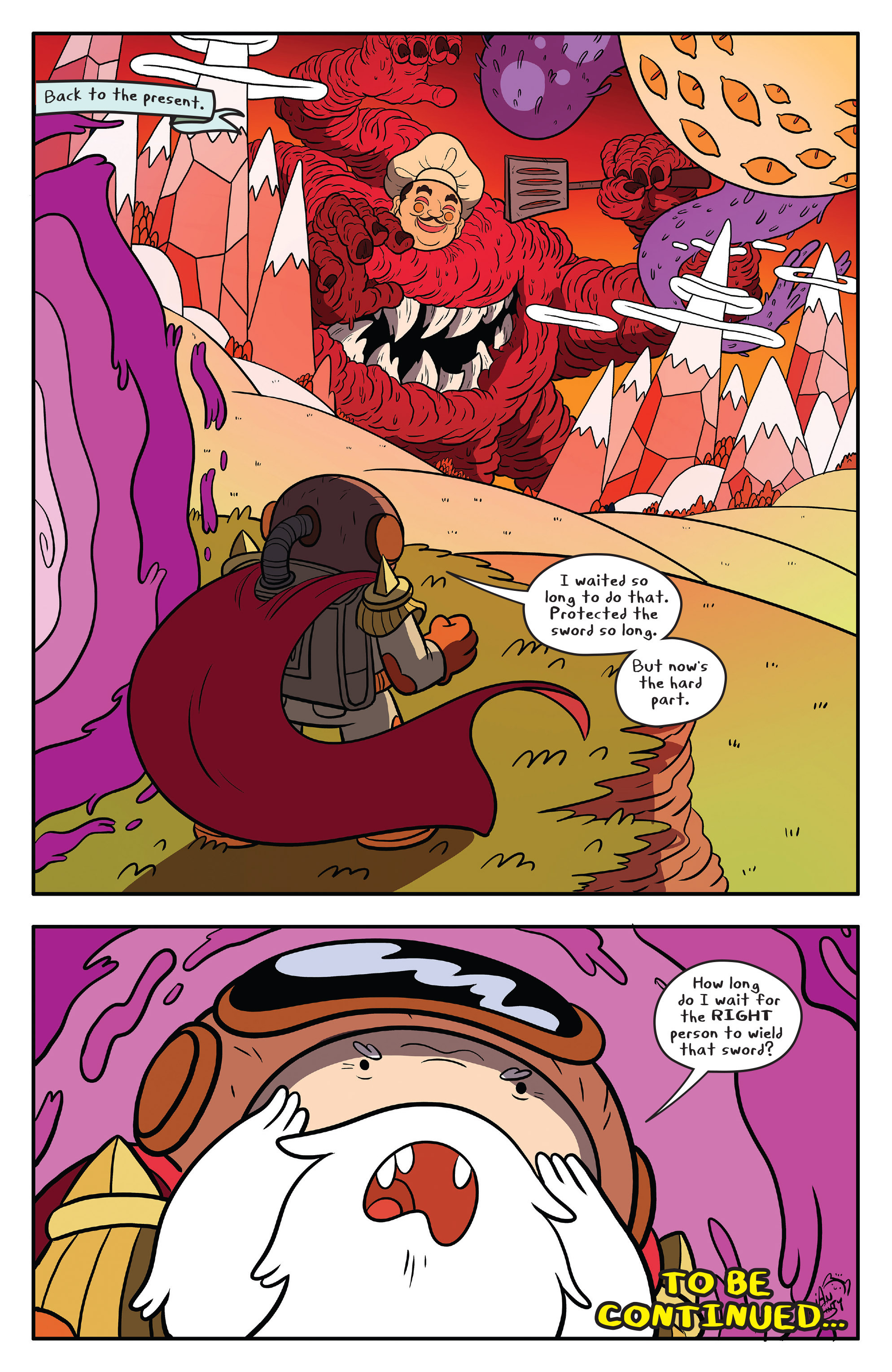 Read online Adventure Time comic -  Issue #59 - 24