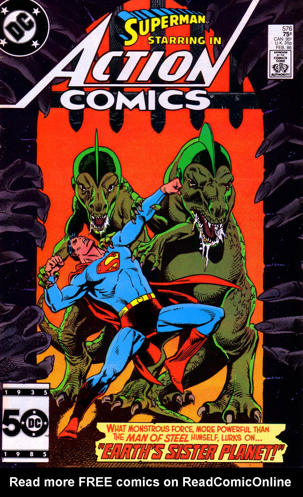 Read online Action Comics (1938) comic -  Issue #576 - 1