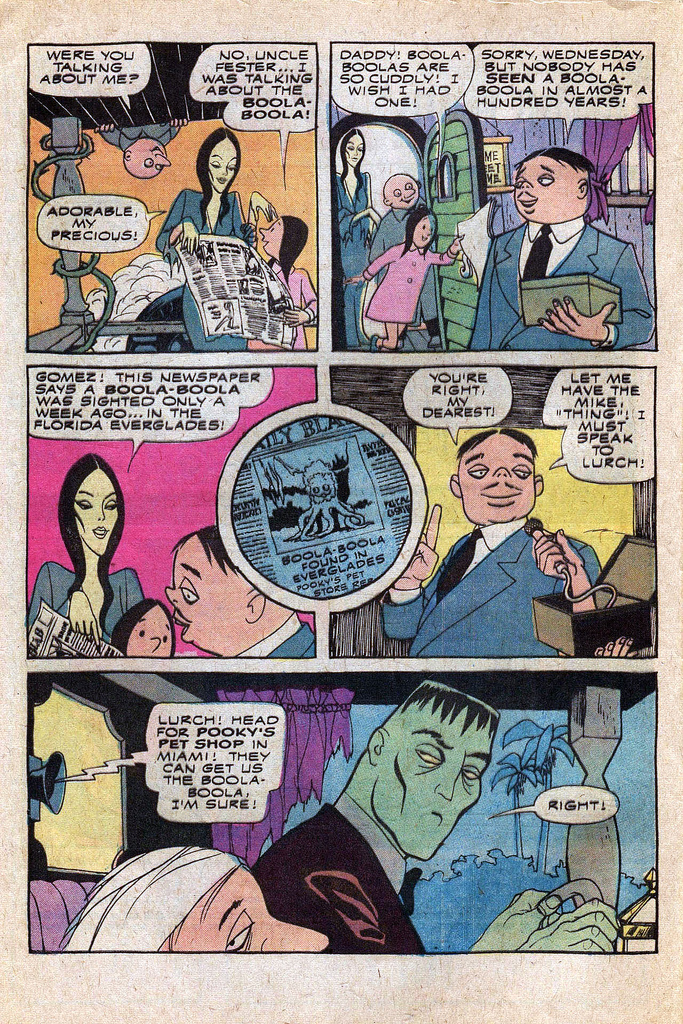 Read online Addams Family comic -  Issue #1 - 31