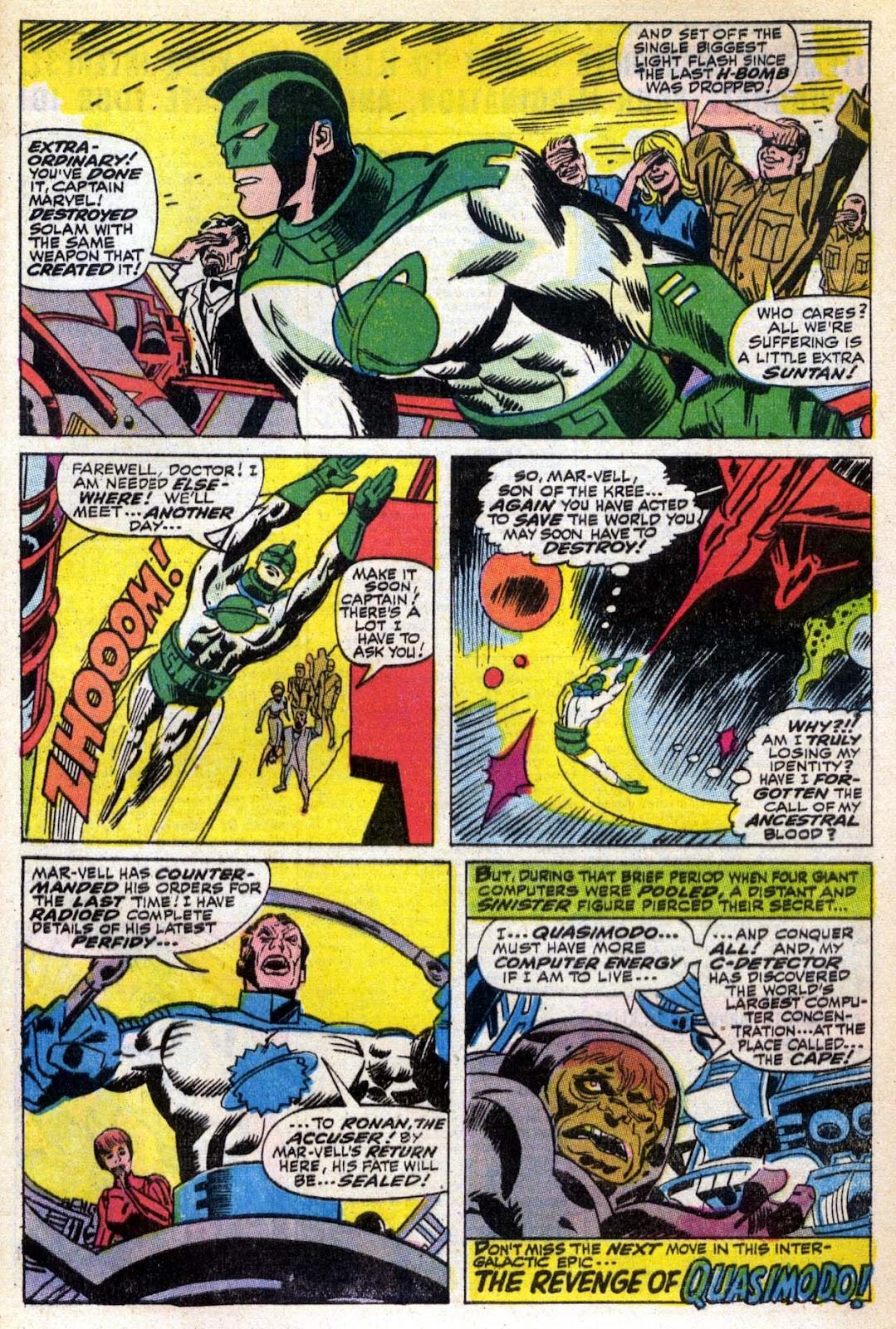 Captain Marvel (1968) Issue #6 #6 - English 21
