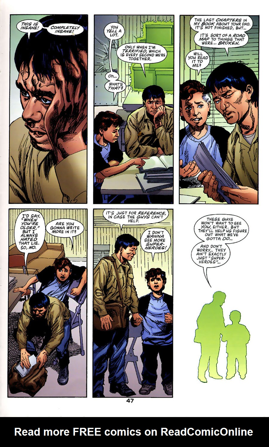 Read online Green Lantern: Legacy: The Last Will and Testament of Hal Jordan comic -  Issue # TPB - 52