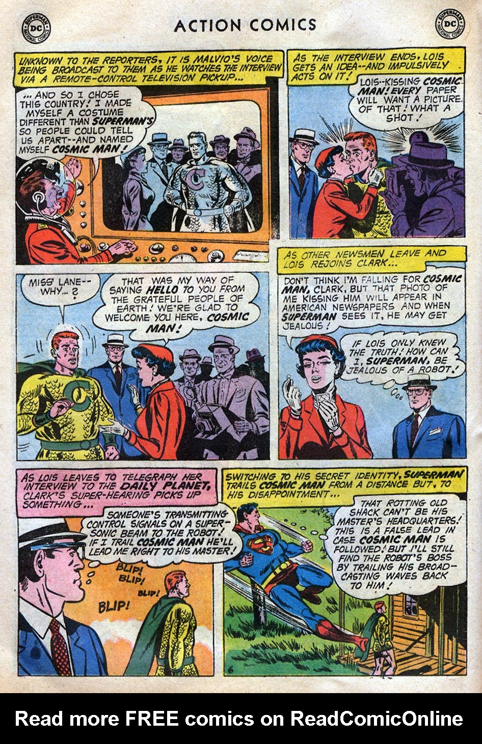 Read online Action Comics (1938) comic -  Issue #258 - 8