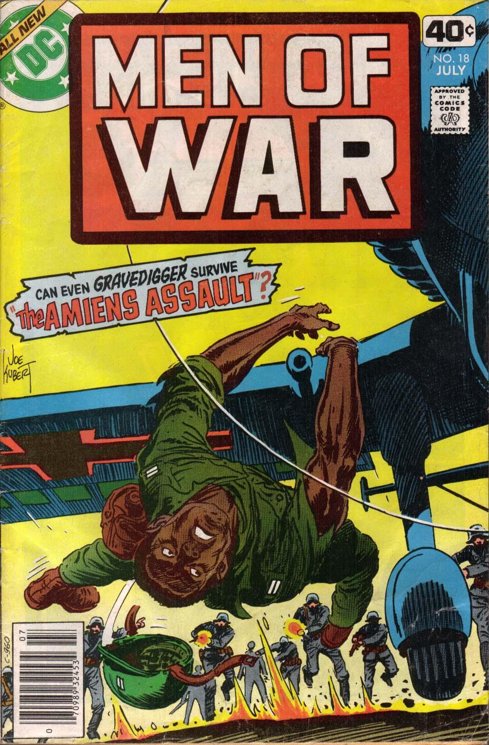 Men of War 18 Page 1