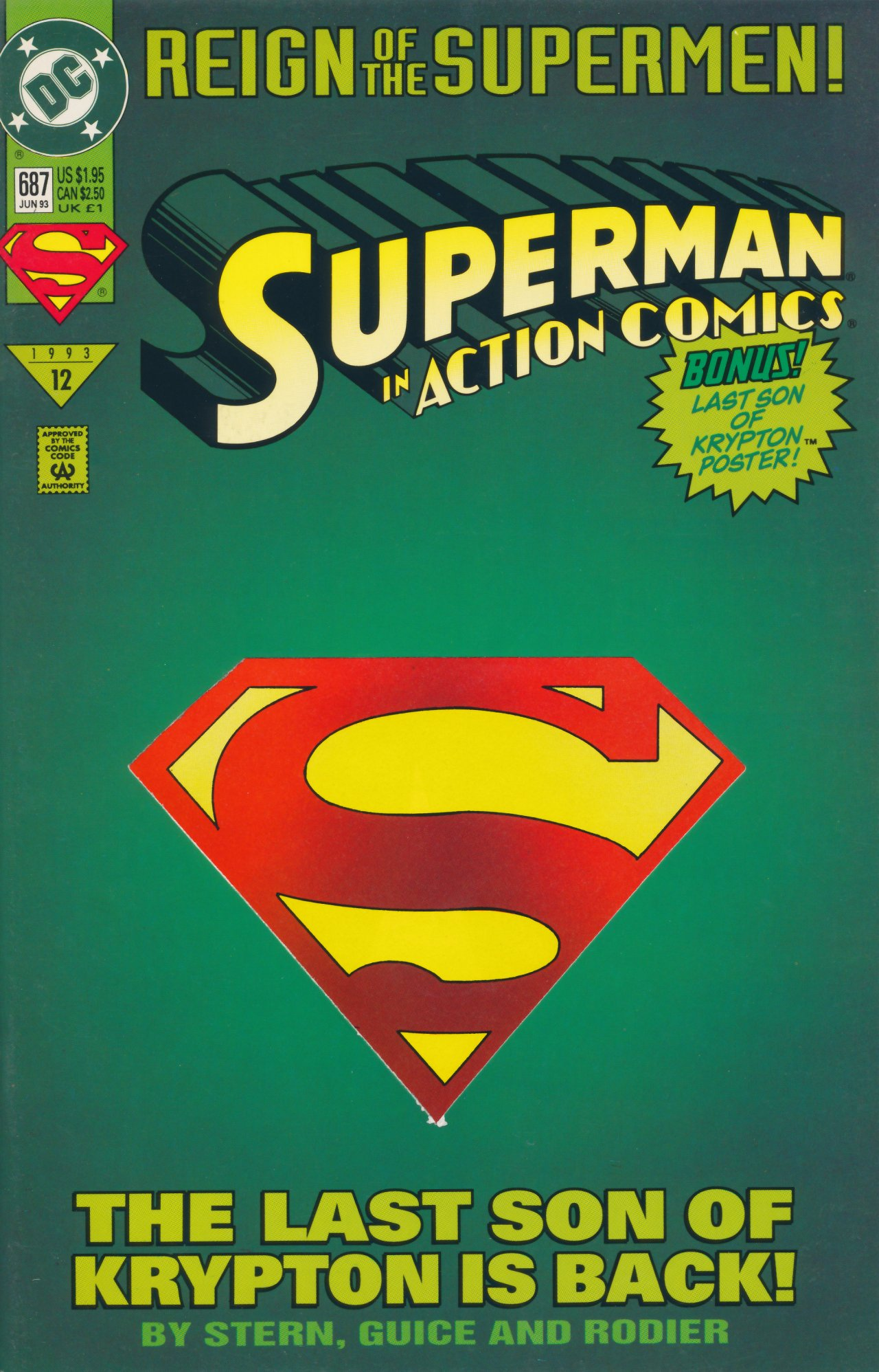 Read online Action Comics (1938) comic -  Issue #687 - 2