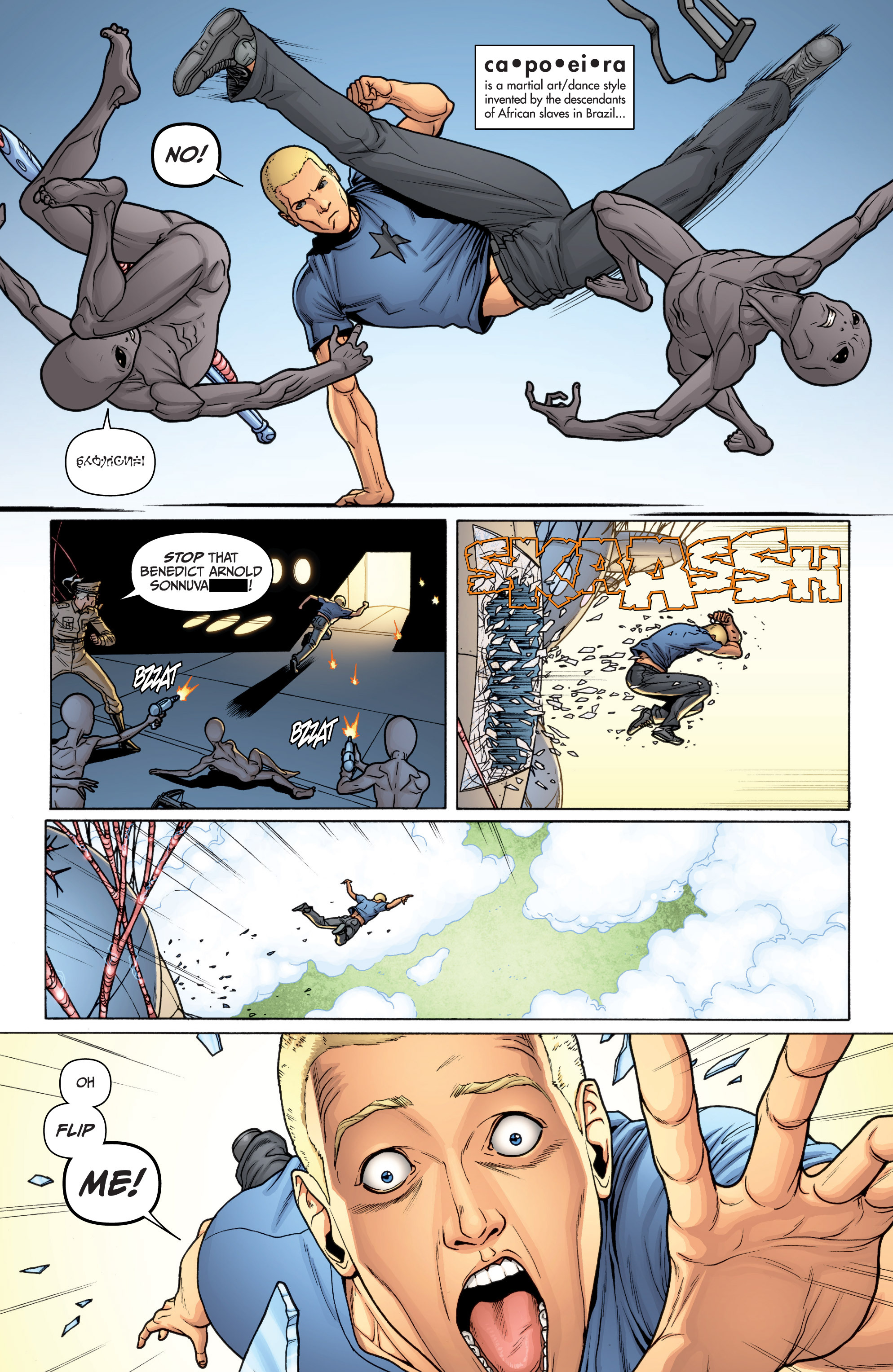 Read online Archer and Armstrong comic -  Issue #11 - 16