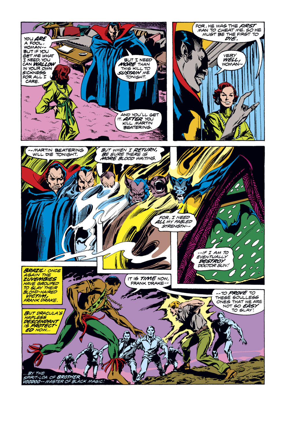 Tomb of Dracula (1972) issue 35 - Page 5