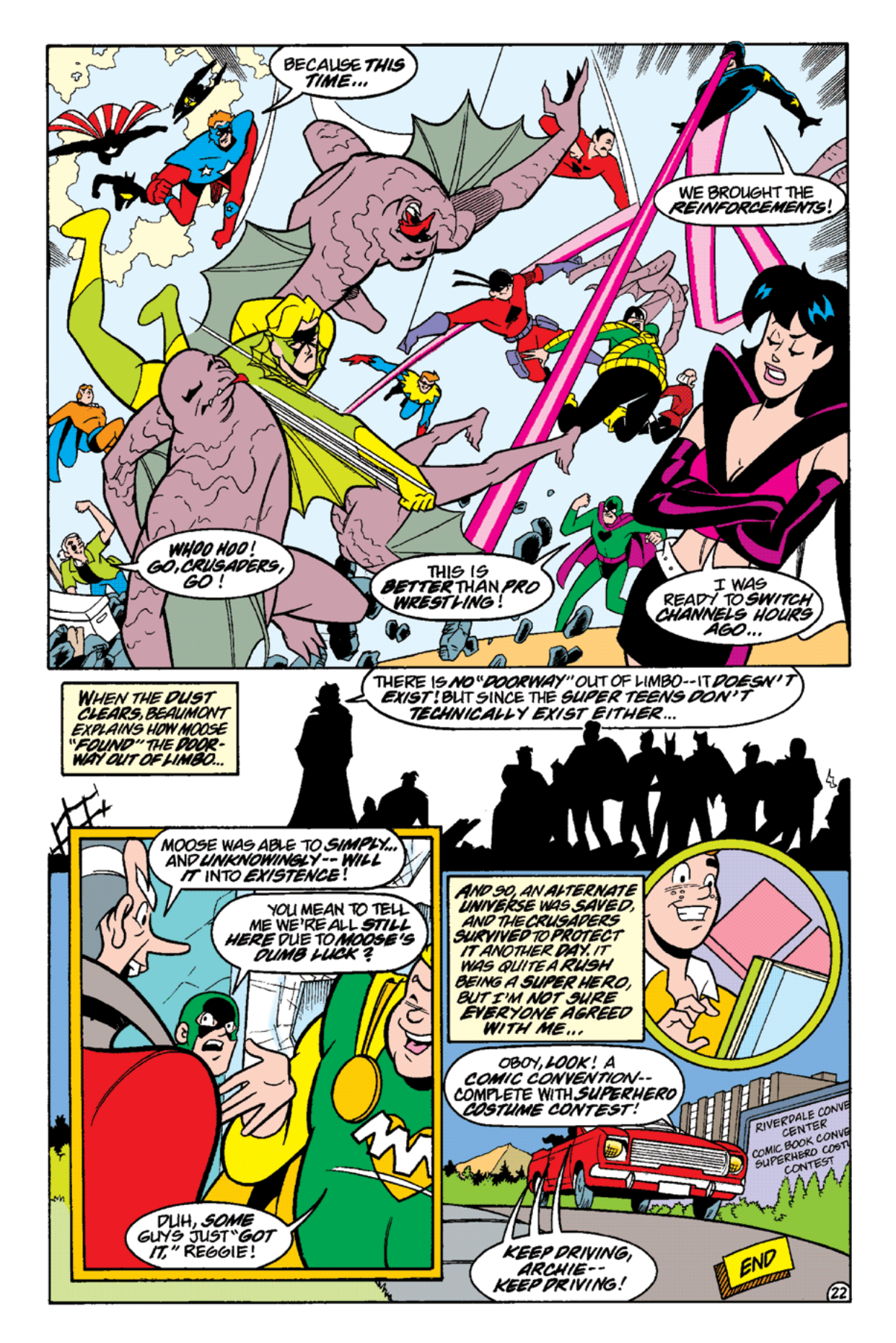 Read online Archie's Weird Mysteries comic -  Issue #14 - 24