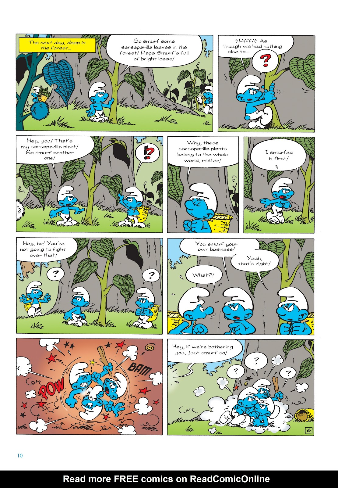 Read online The Smurfs comic -  Issue #22 - 11