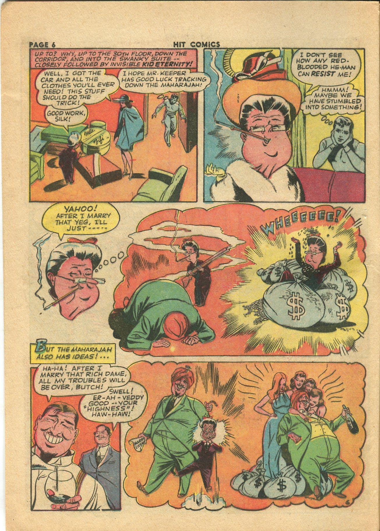 Read online Hit Comics comic -  Issue #28 - 9