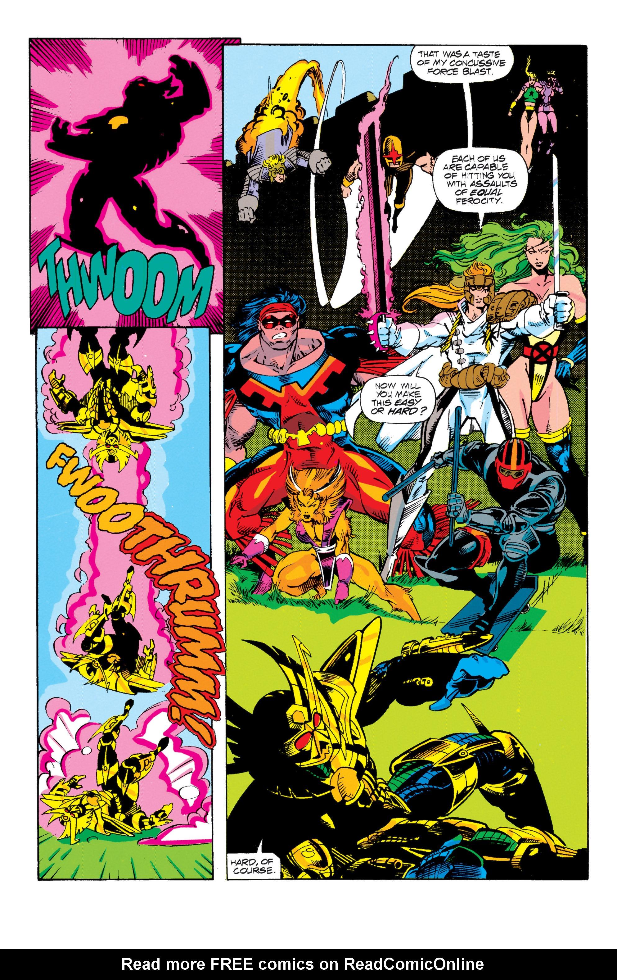 Read online Uncanny X-Men (1963) comic -  Issue # _Annual 15 - 20