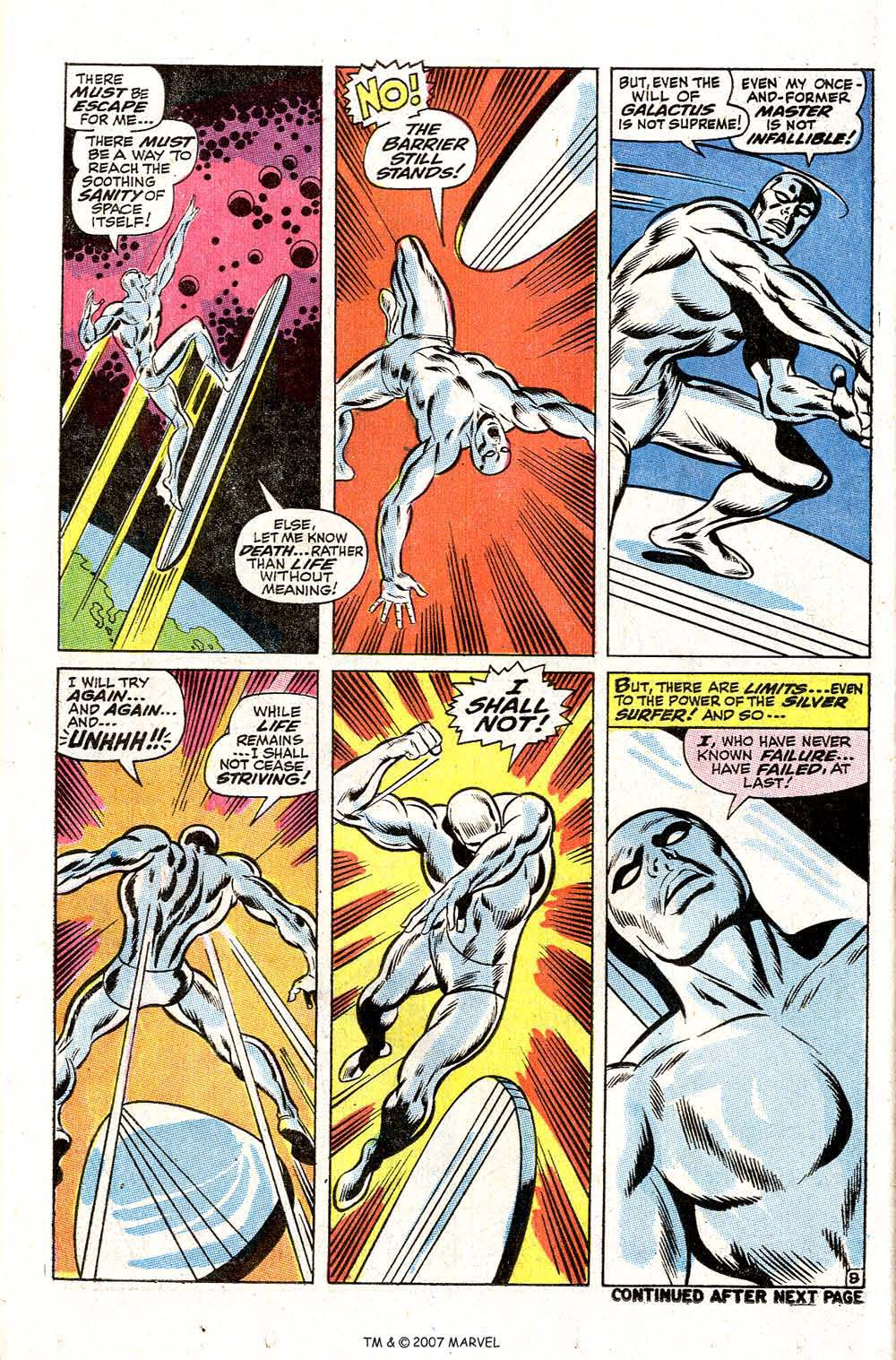 Read online Silver Surfer (1968) comic -  Issue #2 - 10