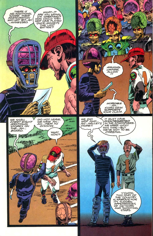 Read online Mars Attacks Baseball Special comic -  Issue # Full - 13