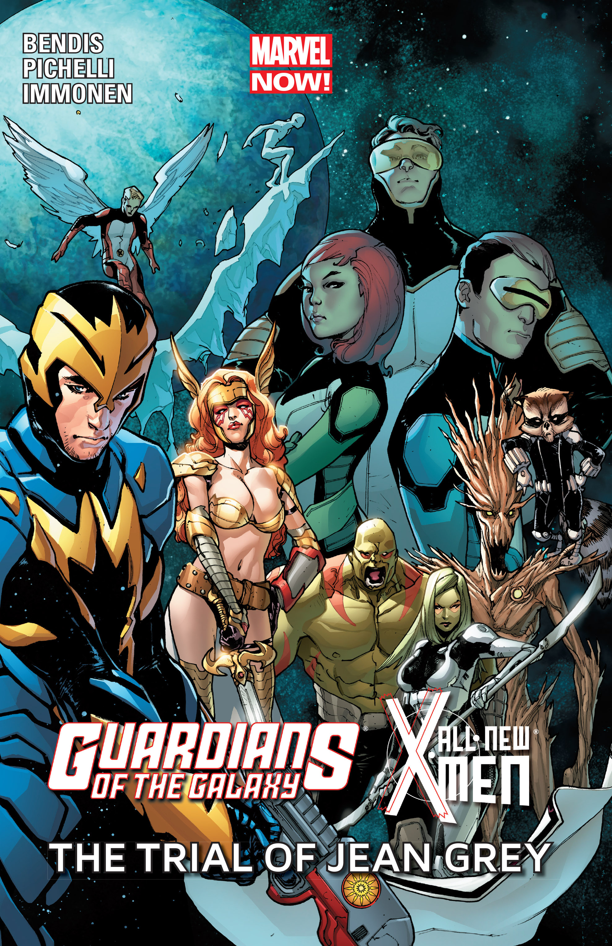 Guardians of the Galaxy/All-New X-Men: The Trial of Jean Grey TPB Page 1